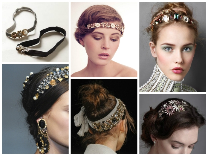 fabspiration jewelled headband